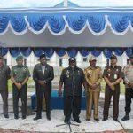 Apel Gabungan Awal Tahun 2017, Serah Terima Jabatan Sekretaris Daerah, dan Lepas Sambut Tahun 2016 ke 2017 di Kabupaten Nabire