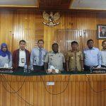 Pertemuan Tim Pemeriksa BPK-RI Perwakilan Provinsi Papua Dengan Pemda Nabire